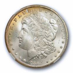 1884 Cc 1 Morgan Dollar Ngc Ms 66 Uncirculated Carson City Mint Exceptional