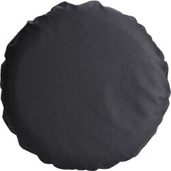 Spare Wheel Tire Cover Fits 205/75r14 205/75r15 Heavy Duty Vinyl Pu Leather Blk
