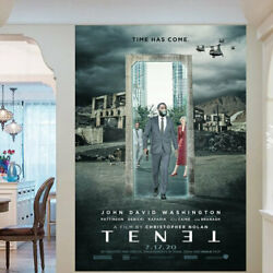 Movie Tenet Film Poster And Wall Decor - No Frame