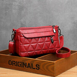 Textured Leather Cross body Bags for Women Big Capacity Casual Shoulder Bag👜👜 $29.95