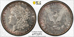 1893 O 1 Morgan Dollar Pcgs Au 55 About Uncirculated To Mint State Better Da...