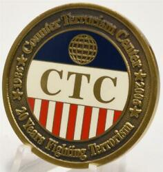 Cia Ctc Counter Terrorism Center 1986-2006 20 Years Fighting Challenge Coin
