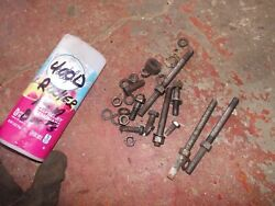 Farmall 400 Diesel D Ih Tractor Original Rocker Arm Bolts And Nuts And Washers