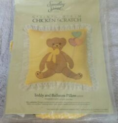 CANDAMAR DESIGNS SOMETHING SPECIAL GINGHAM CHICKEN SCRATCH PILLOW Teddy Balloons