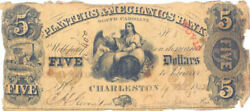 Clement H. Stevens - Currency Signed 01/19/1853