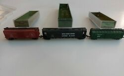 N Scale Aurora Postage Stamp Trains Lot Of 3