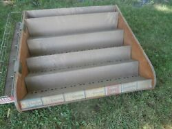 Vintage Chiclets And Reeds And Gum Store Display Sales Rack Case