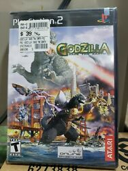 Godzilla Save The Earth Ps2, 2004 Brand New Factory Sealed Black Lable Rare