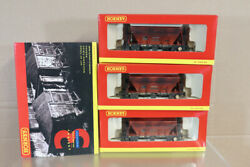 Hornby R6154 Weathered Rmc Procor Hopper Wagon Set Mint Boxed Ny