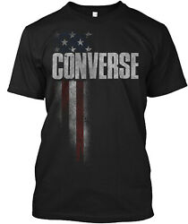 Converse Family American Flag Classic T Shirt 100% Cotton By One Nation Design