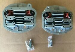 Cylinder Head Set W/ Valves For Harley Panhead 1955-1962 O-ring Style 10-1957