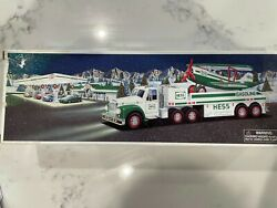 2002 Hess - Truck And Airplane