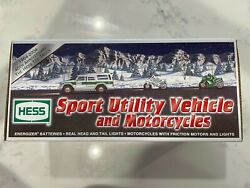 2004 Hess - Sport Utility Truck/cycles