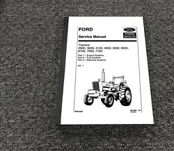 Ford New Holland 3600 Tractor Engine Fuel And Electrical System Service Manual