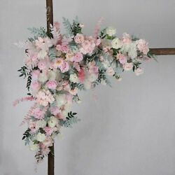 Artificial Roses Flowers Plants Wall Decoration Design Wedding Party Stage Fake