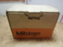 New Box Opened Mitutoyo 156-101 Micrometer Stand Cast Iron In Box