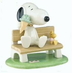 Lenox Peanuts Happiness Is Ice Cream Snoopy And Woodstock New In Box
