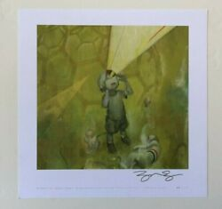 James Jean Myopic Limited Edition Art Print Signed Rare Sdcc 2007 Adhouse Books