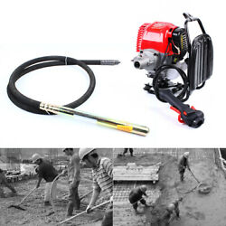 4-stroke 4.8hp Engine Electric Concrete Vibrator Single Cylinder Air Cooled Us