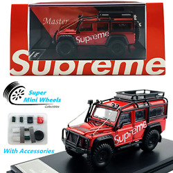 Master Model 164 Land Rover Defender 110 Supreme With Accessories