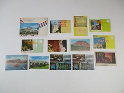 Vintage Lot Of Post Cards And Travel Mailing Cards Pictures