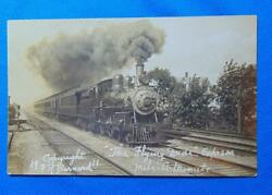 Rppc The Flying Dude Express Locomotive Train Kennebunk Maine