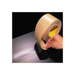 3m 966 Adhesive Transfer Tape, Hand Rolls, 2.0 Mil, 1 X 60 Yds., Clear, 36/case
