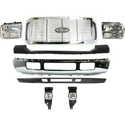 New Set Of 8 Front Chrome For F450 Truck Ford F-450 Super Duty 2006-2007
