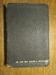 Nelson 1950and039s Rsv Revised Standard Version Bible Genuine Leather Keg 3807