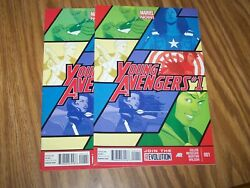 Lot Of Two Young Avengers 1 Volume 2 Marvel Comics Marvel Now Run