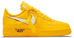 Nike Off-white Air Force 1 Low University Gold Size 12 Confirmed Order
