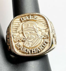 14kt Yellow Gold Dale Earnhardt 3 Nascar Winston Cup Ring