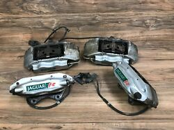Jaguar Oem S Type Front And Rear Caliper Brake Set Brembo R Supercharged 03-08