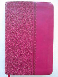 Holy Bible New King James Version Berry Leathersoft Ultraslim Bible [classic Se