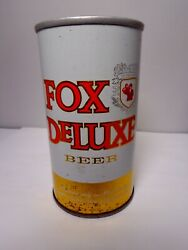 Fox Deluxe Straight Steel Pull Tab Beer Can 65-39 Cold Spring Brewing Co.
