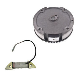 Flywheel With Magnets Charging Coil For Honda Gx160 Gx200 5.5hp 6.5hp