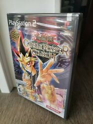 Yu-gi-oh Capsule Monster Coliseum Ps2 Brand New Factory Sealed Rare Black Lable