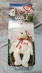 Ty Beanie Baby Maple The Bear 1997 Retired Ronald Mcdonald Mint Condition