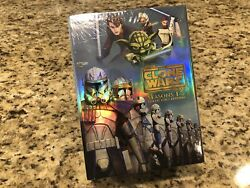 Star Wars The Clone Wars - The Complete Seasons 1-5 Dvd 2013 Collectors Edition