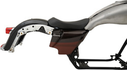 Drag Specialties Ez On Solo Seat For Ness Winged Gas Tank 0801-1067