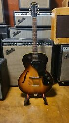 Vintage 1968 Gibson Es-120t Guitar Signed By Gordon Lightfoot