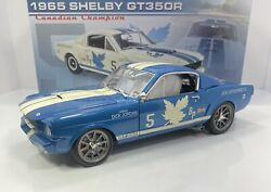 Gmp/acme 1/18 Scale 1965 Shelby Gt350randrdquocanadian Champion Versionandrdquoonly 65 Made
