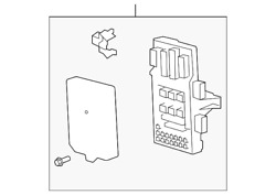Genuine Ford Fuse And Relay Box 4l3z-14a068-bh