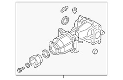 Genuine Ford Differential Assembly Gd97-4000-ba