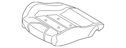 Genuine Ford Seat Cover Jr3z-6362901-hd