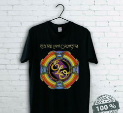 Electric Light Orchestra Elo T-shirt Funny Cotton Tee Vintage Gift For Men Women