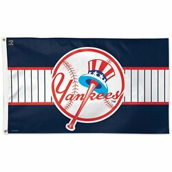 New York Yankees Wincraft 3' X 5' Cooperstown Collection One-sided Flag