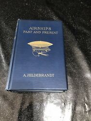Antique Rare Airships Of The Past And Present 1908 By A.hildebrant