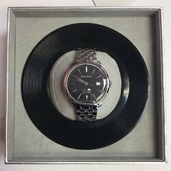 Bulova Frank Sinatra The Best Is Yet To Come Stainless Automatic Watch 96b346