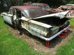 1960 Impala Bel Air Rear Back Bumper Core Needs Replate Sold As Is 60 Biscayne